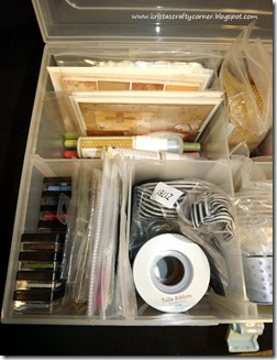 organizing box_left  compartment