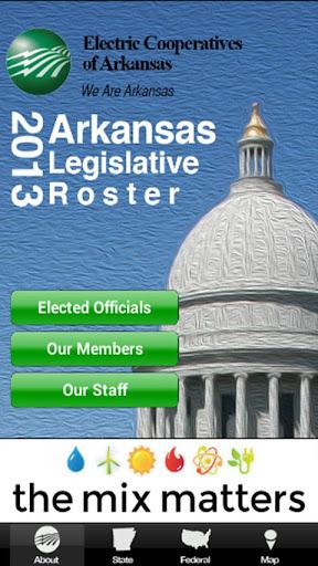 2015 AR Legislative Roster