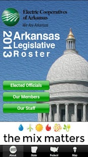2014 AR Legislative Roster - screenshot thumbnail