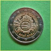 Francia 2012 10 años Euro