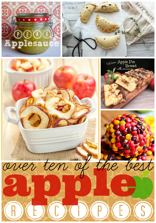 Over 10 of the Best Apple Recipes #features #gingesnapcrafts #apples #recipes #fall