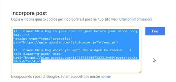 incorporare-post-google-plus
