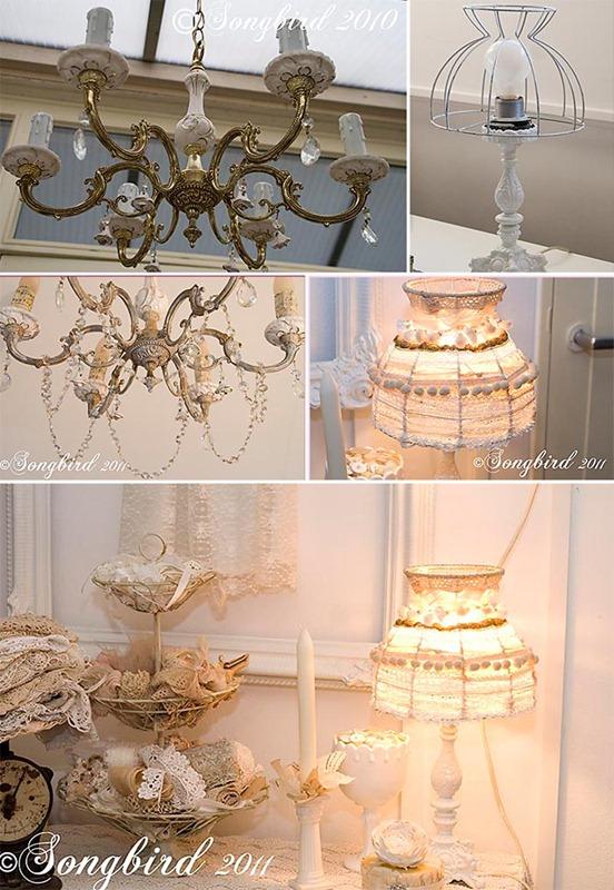 Songbird Lamp Makeovers