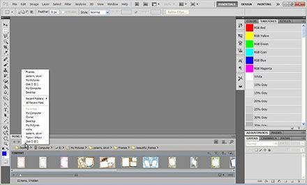 Lightroom like Filmstrip in Photoshop | DesignEasy