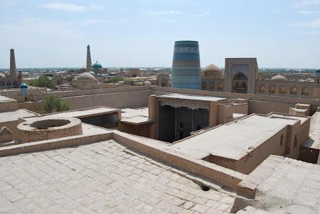 Imagini Uzbekistan: Vedere de sus Khiva