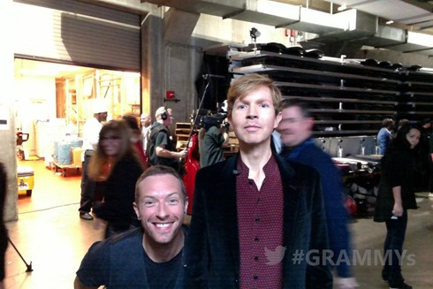 chris martin beck grammy