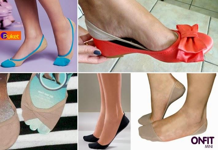 674f6093746 Meia  invisível  para usar sapatilha e peep toe – Onde comprar ...