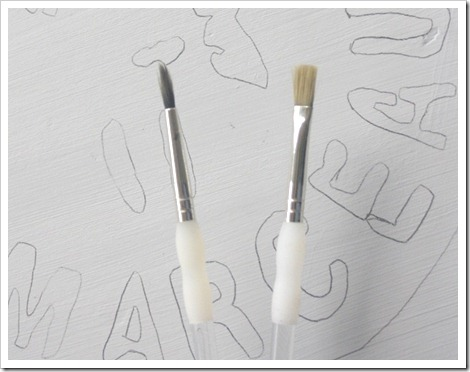 Small Paint Brushes