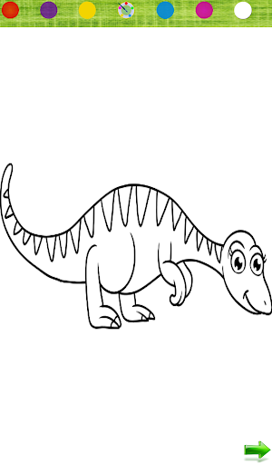Coloring: Dinosaurs