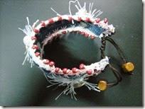 Recycle denim bracelet 13