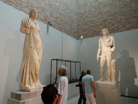 Muzeu Berlin: Statui Romane