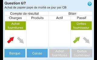 Screenshot of Le compte de résultats.