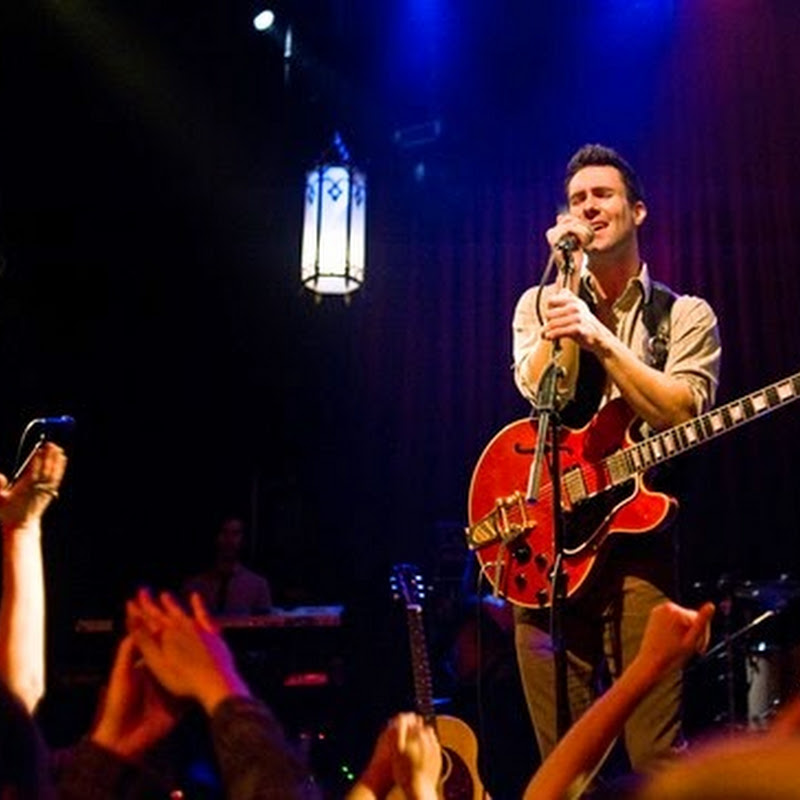 "Adam Levine Makes Film Debut in ""Begin Again"""