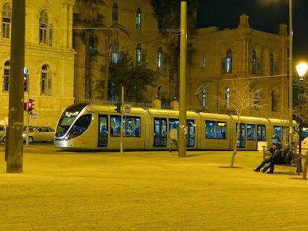 Imagini Israel: Tramvaiul din Ierusalim
