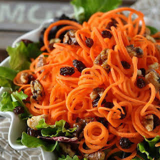 Healthy Carrot Salad.
