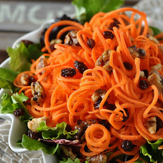 Healthy Carrot Salad.