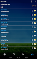 Screenshot of 3D Sense Clock & Weather
