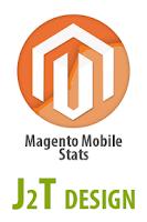 Screenshot of J2T Magento Mobile Stats