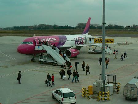 Imagini Belgia: Wizz Air la Charleroi
