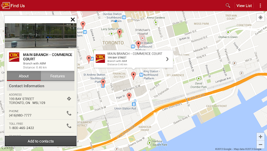 CIBC Mobile Banking®- screenshot thumbnail