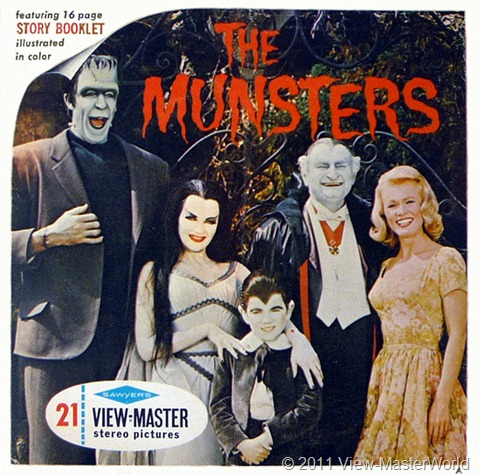 View-Master The Munsters (B481), Packet Cover