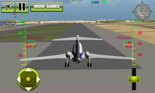 3D飛機飛行模擬器3
