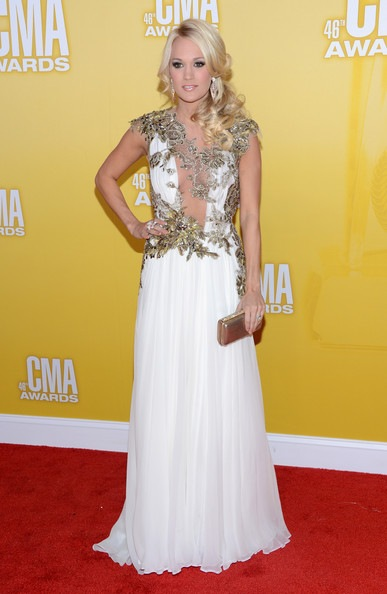 Carrie Underwood 46th Annual CMA Awards Arrivals
