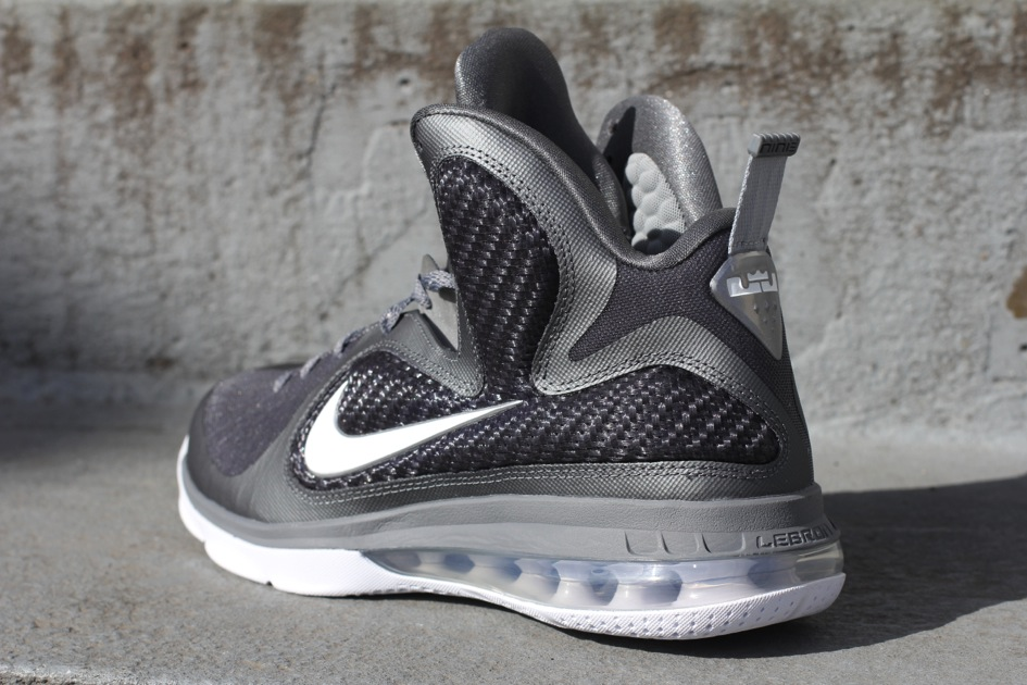 on sale 09252 a495f ... Cool Grey White-Metallic Silver. Nike LeBron 9 8220Cool Grey8221  Arriving at Retailers ...