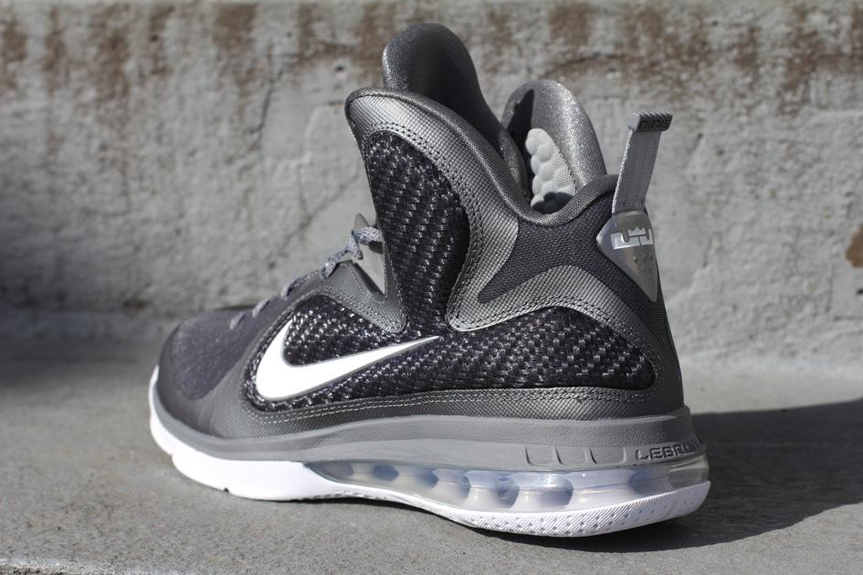 huge discount 67c7d ecb21 469764-007 Cool Grey White-Metallic Silver. Nike LeBron 9 8220Cool Grey8221  Arriving at Retailers ...
