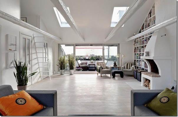 case e interni - casa svedese - Stoccolma - bianco (3)