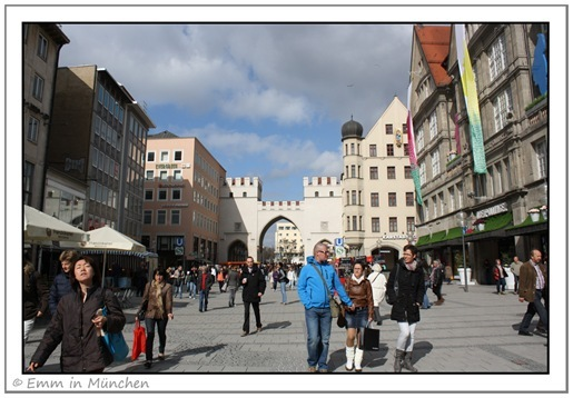 Karlstor on Neuhauser Strasse Munich