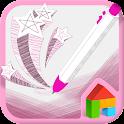 Pink Monami Dodol Theme icon