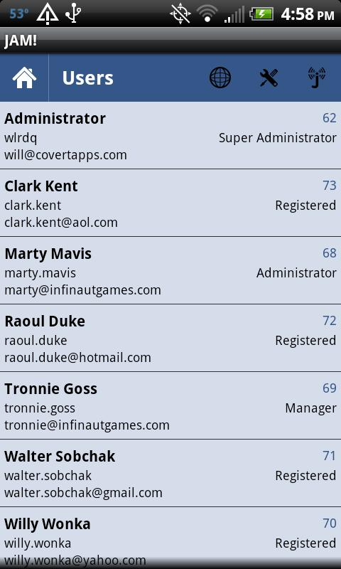 Joomla Admin Mobile! - screenshot