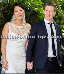 Facebook CEO Weds his 8 year old girl friend after lauching his IPO