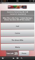 Screenshot of 1990s Movie Trivia