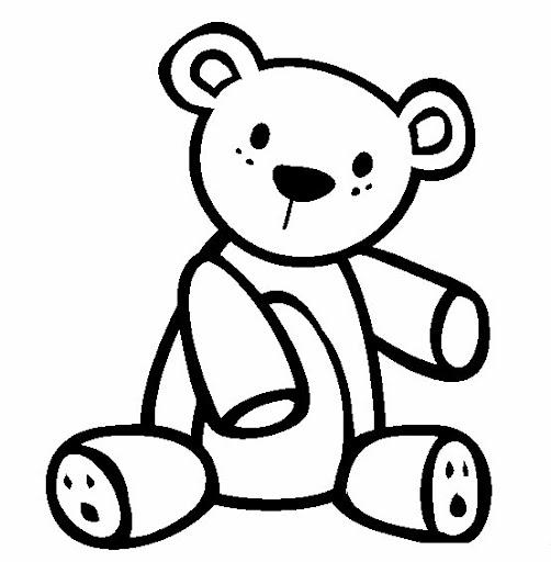 Dibujos Colorear Teddy Bear Imagui