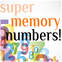 Super Memory Numbers icon