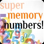 Super Memory Numbers