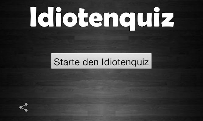 Idioten Quiz - Deutsch - screenshot