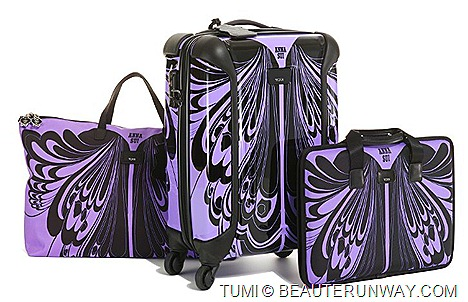 TUMI  ANNA SUI travel luggage bags - Tumi Vapor™ International Carry-On case, Laptop case, Just In Case™ Tote Shoe BagsTumi stores  Anna Sui NYC, Isetan Japan