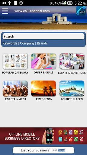 Call Chennai Bizz Directory