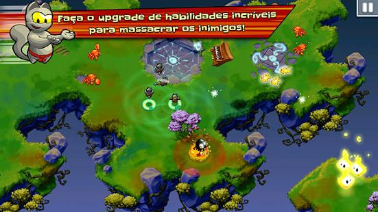 Ninja Hero Cats screenshot