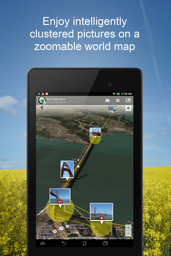 PhotoMap - Geo Photo Gallery- screenshot