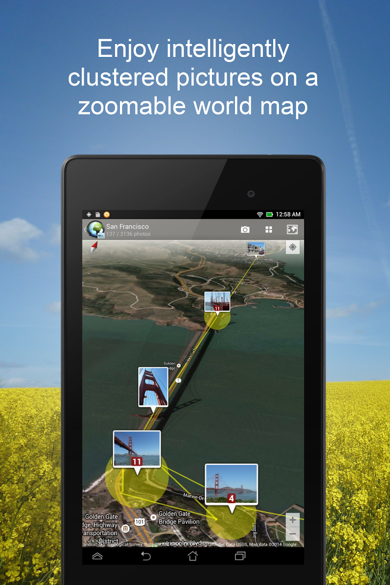 PhotoMap Gallery - Photos, Videos and Trips Screenshot 10