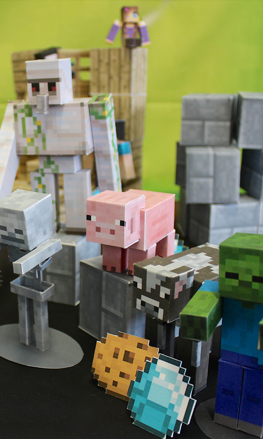 Minecraft Papercraft Studio- screenshot