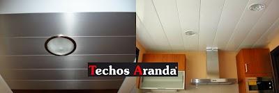 Techos aluminio Santa Eulalial Rio