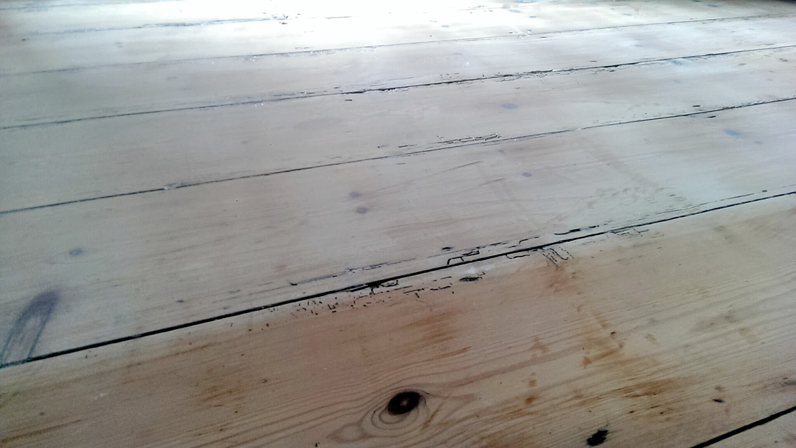Whitewash Wooden Flooring