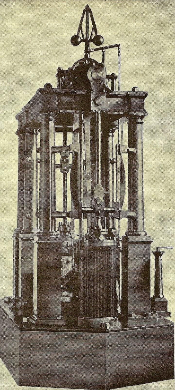 Modelo de máquina de vapor fabricado por William Wain en 1860.jpg
