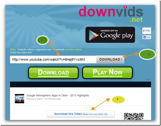 Download YouTube videos Online | TechnoLamp
