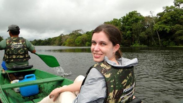 Passeio na Reserva Mamirauá